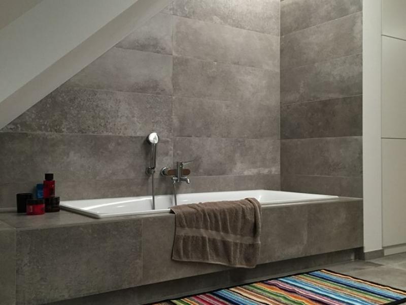 Salle de bains dans une maison particulière, Luxembourg