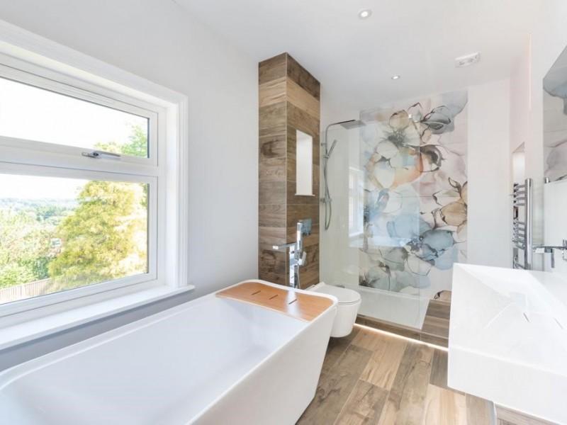 Bathroom in private villa, London
