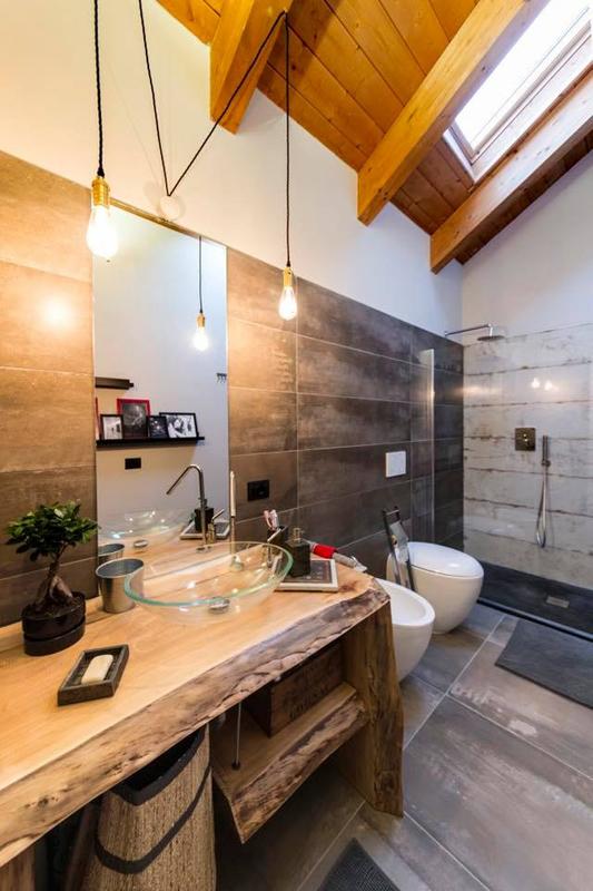 Floor: Interno 9 Mud 30x60 | Wall: Interno 9 Mud 30x120, Do Up Scratch 30x120