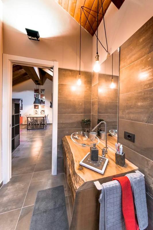 Floor: Interno 9 Mud 30x60 | Wall: Interno 9 Mud 30x120