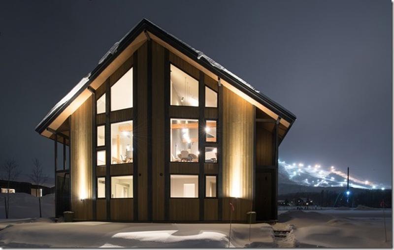THE ORCHARDS NISEKO TWIN HOUSE, SKI RESORT