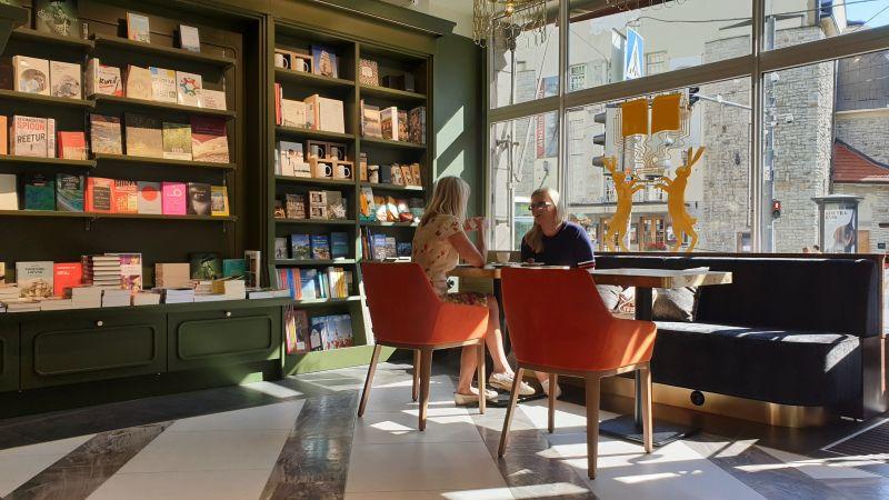 Libreria a Tallin, Estonia
